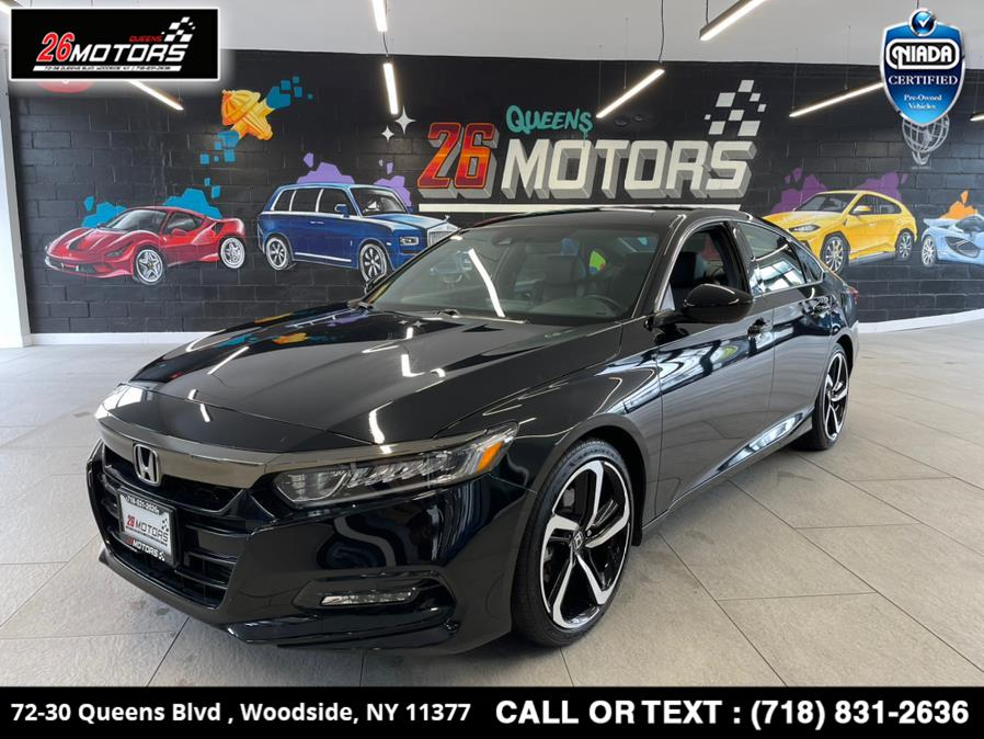 Used 2019 Honda Accord Sedan in Woodside, New York | 26 Motors Queens. Woodside, New York
