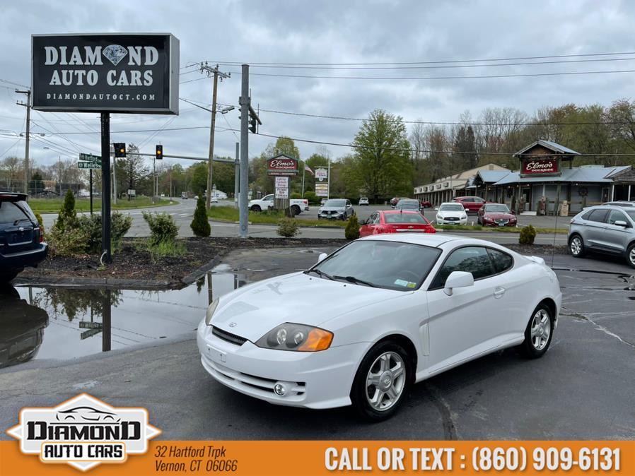 Used 2003 Hyundai Tiburon in Vernon, Connecticut | Diamond Auto Cars LLC. Vernon, Connecticut