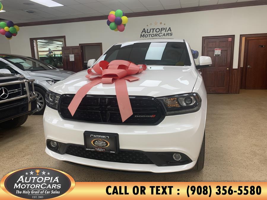 Used Dodge Durango R/T AWD 2017 | Autopia Motorcars Inc. Union, New Jersey