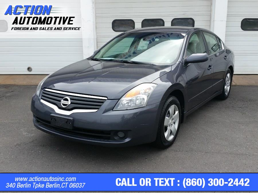 Used Nissan Altima 4dr Sdn I4 CVT 2.5 S 2008 | Action Automotive. Berlin, Connecticut