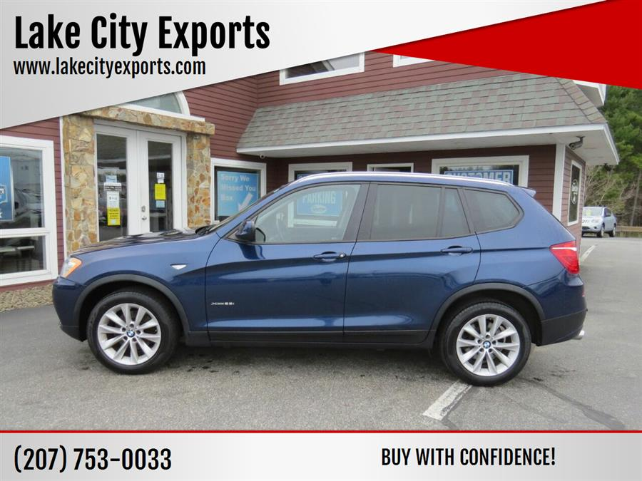 Used BMW X3 xDrive28i AWD 4dr SUV 2014 | Lake City Exports Inc. Auburn, Maine