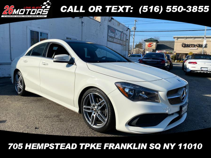 Used Mercedes-Benz CLA ///AMG Package CLA 250 4MATIC Coupe 2018 | Hempstead Auto Outlet Inc. DBA 26 Motors Long Isla. Franklin Sq, New York