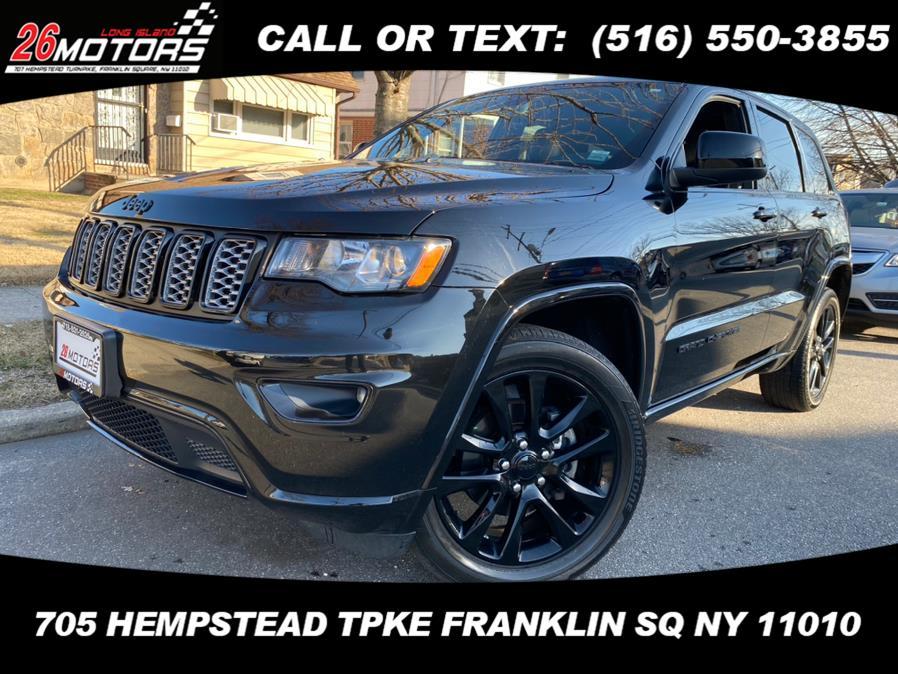 Used Jeep Grand Cherokee Altitude 4x4 *Ltd Avail* 2018   Hempstead Auto Outlet Inc. DBA 26 Motors Long Isla. Franklin Sq, New York