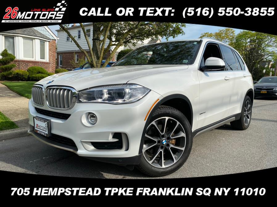 Used BMW X5 xDrive35i Sports Activity Vehicle 2018   Hempstead Auto Outlet Inc. DBA 26 Motors Long Isla. Franklin Sq, New York