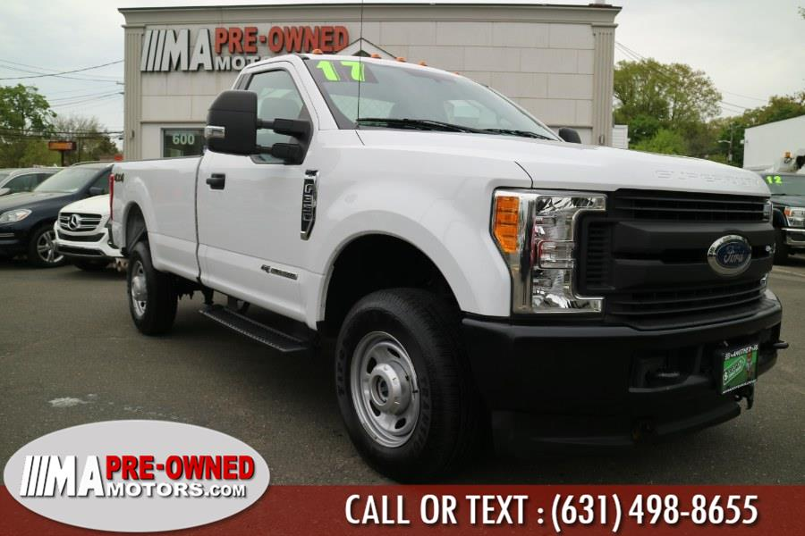 Used Ford Super Duty F-350 SRW XL 4WD Reg Cab 8'' Box 2017 | M & A Motors. Huntington, New York