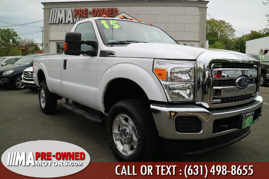"Used Ford Super Duty F-350 SRW 4WD Reg Cab 137"" XLT 2015 