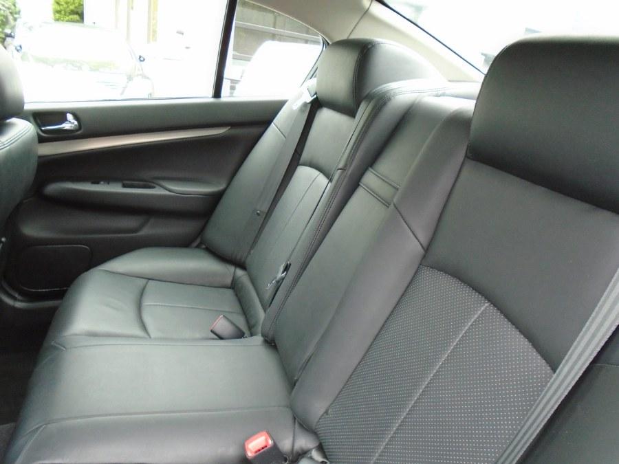 Used Infiniti G37 Sedan 4dr x AWD 2011 | Jim Juliani Motors. Waterbury, Connecticut