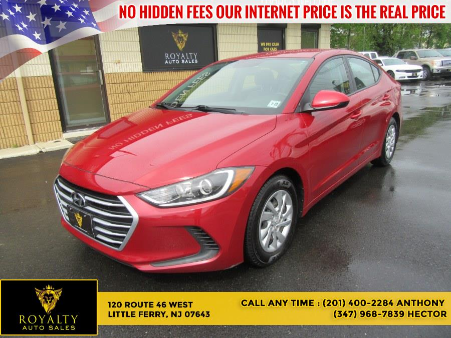Used 2017 Hyundai Elantra in Little Ferry, New Jersey | Royalty Auto Sales. Little Ferry, New Jersey