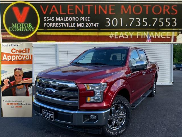 Used Ford F-150 Lariat 2017 | Valentine Motor Company. Forestville, Maryland