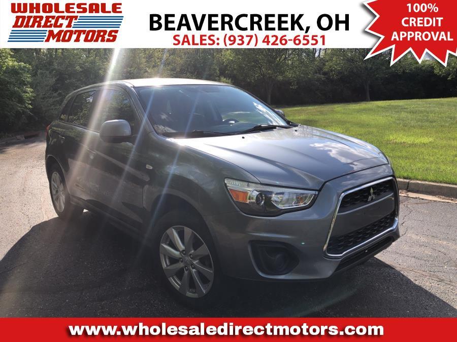 Used Mitsubishi Outlander Sport 2WD 4dr CVT ES 2014   Wholesale Direct Motors. Beavercreek, Ohio