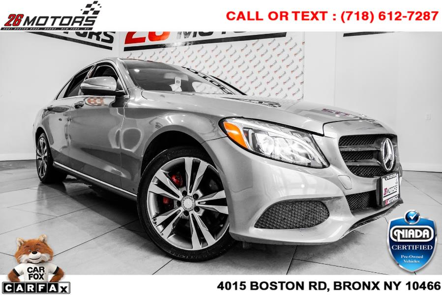 Used Mercedes-Benz C-Class 4dr Sdn C 300 4MATIC 2015 | 52Motors Corp. Woodside, New York