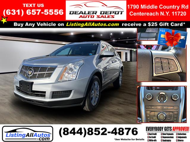 Used Cadillac Srx FWD 4dr Base 2012 | www.ListingAllAutos.com. Patchogue, New York