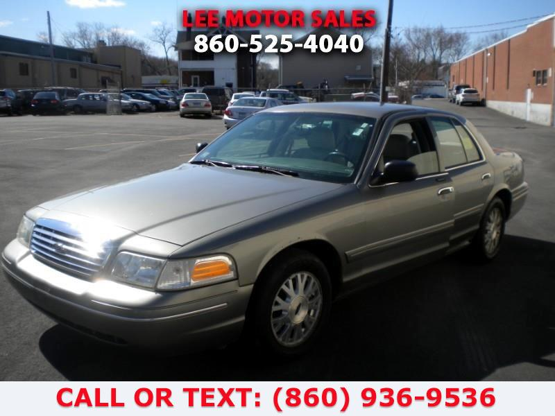Used Ford Crown Victoria 4dr Sdn LX 2003 | Lee Motors Sales Inc. Hartford, Connecticut
