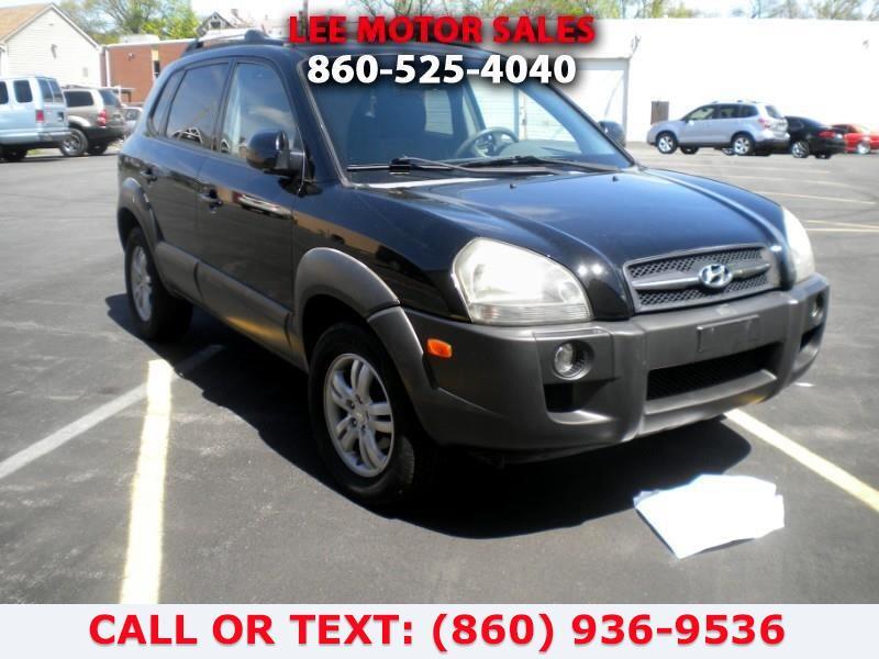 Used Hyundai Tucson GLS 2.7 4WD 2006   Lee Motors Sales Inc. Hartford, Connecticut