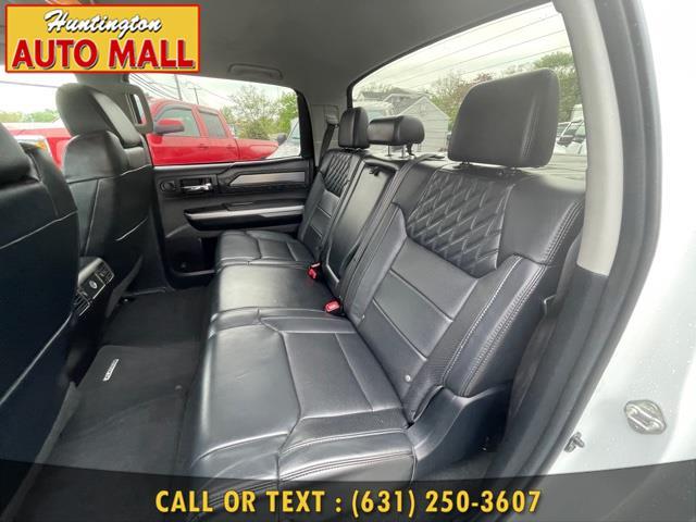 Used Toyota Tundra 4WD Truck CrewMax 5.7L V8 6-Spd AT Platinum (Natl) 2014   Huntington Auto Mall. Huntington Station, New York