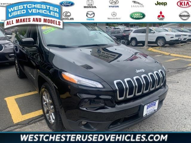 Used Jeep Cherokee Latitude Plus 4x4 2018   Apex Westchester Used Vehicles. White Plains, New York