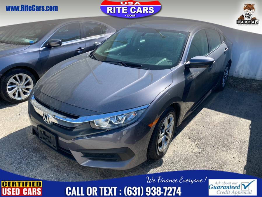 Used 2016 Honda Civic Sedan in Lindenhurst, New York | Rite Cars, Inc. Lindenhurst, New York