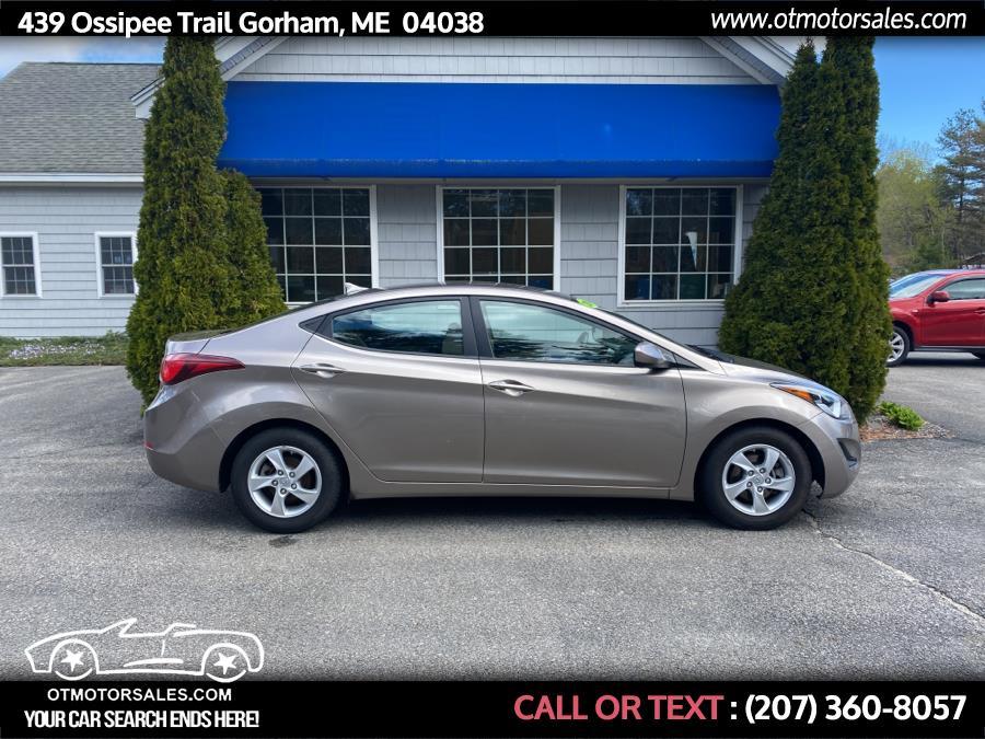 Used 2014 Hyundai Elantra in Gorham, Maine | Ossipee Trail Motor Sales. Gorham, Maine