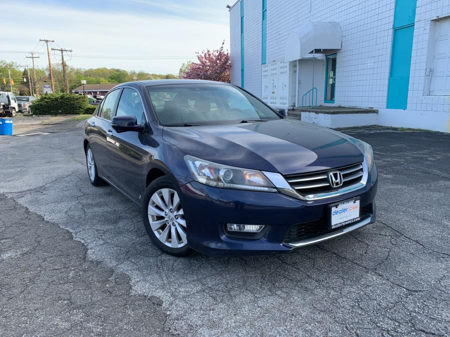 Used Honda Accord Sdn 4dr I4 CVT EX-L 2013 | Dealertown Auto Wholesalers. Milford, Connecticut