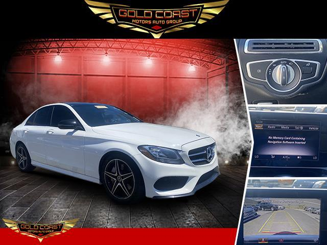 Used Mercedes-Benz C-Class C 300 4MATIC Sedan 2018 | Sunrise Auto Outlet. Amityville, New York