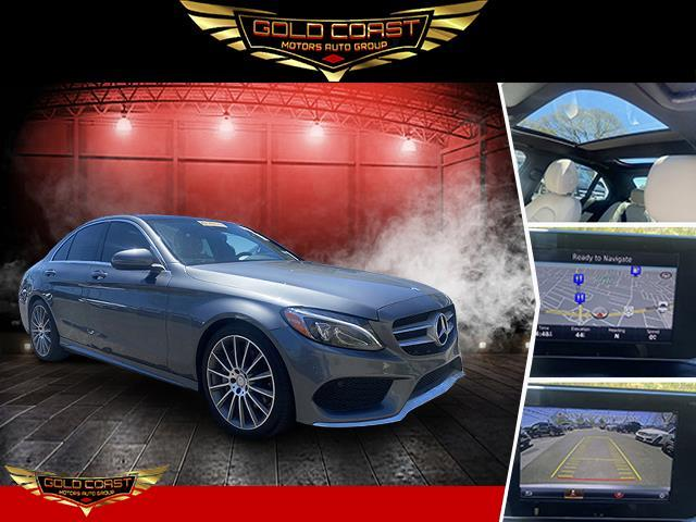Used Mercedes-Benz C-Class C 300 Sedan with Sport Pkg 2017   Sunrise Auto Outlet. Amityville, New York