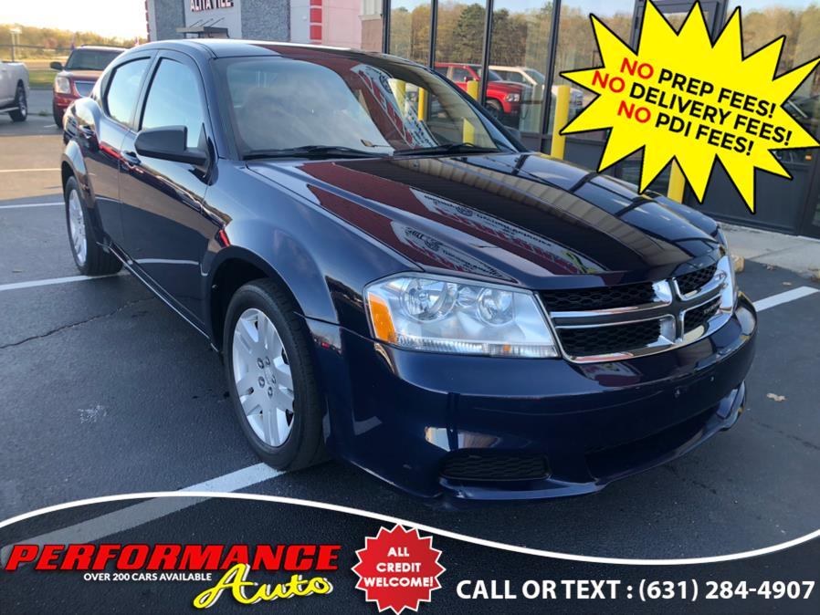 Used Dodge Avenger 4dr Sdn SE 2013 | Performance Auto Inc. Bohemia, New York