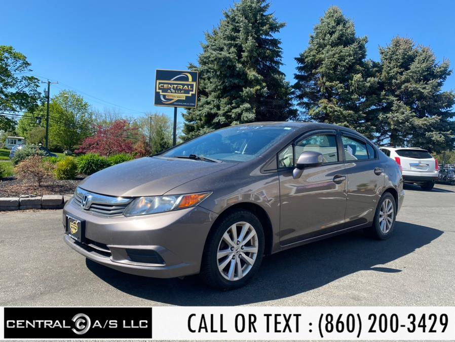 Used Honda Civic Sdn 4dr Auto EX 2012 | Central A/S LLC. East Windsor, Connecticut