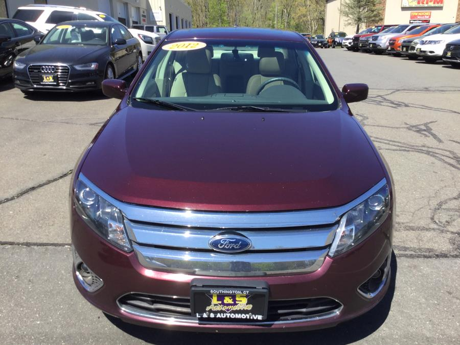 Used Ford Fusion 4dr Sdn SEL FWD 2012   L&S Automotive LLC. Plantsville, Connecticut