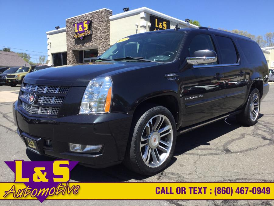 Used Cadillac Escalade ESV AWD 4dr Premium 2012 | L&S Automotive LLC. Plantsville, Connecticut