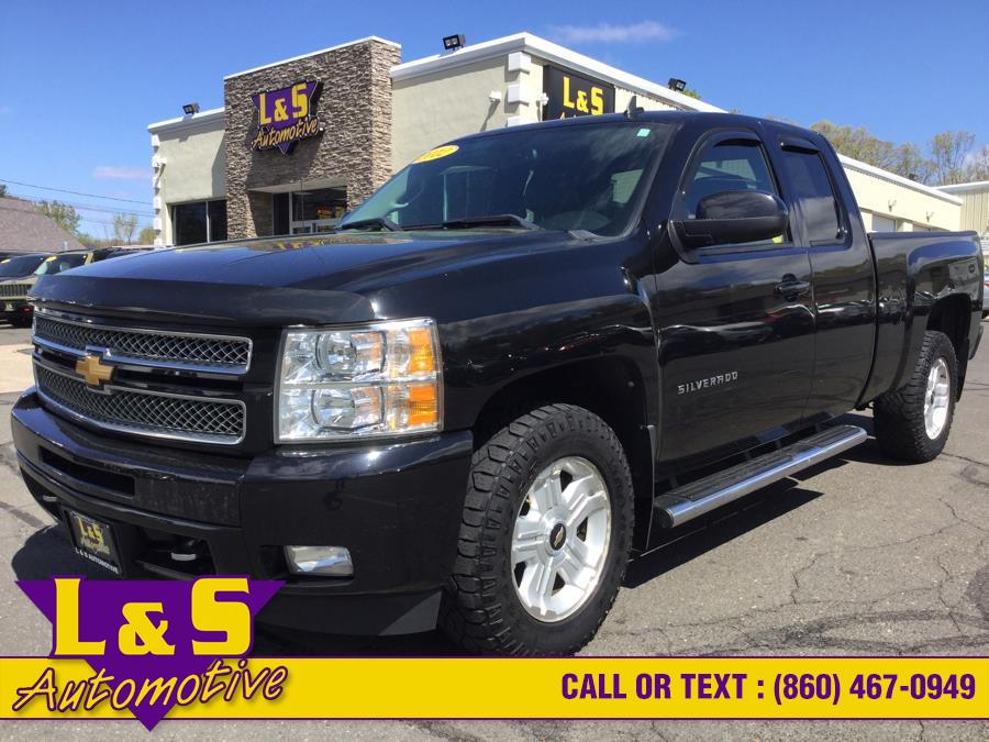 "Used Chevrolet Silverado 1500 4WD Ext Cab 143.5"" LTZ 2012 