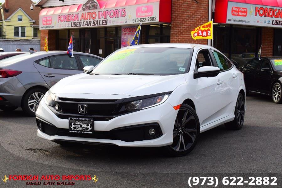 Used 2020 Honda Civic Sedan in Irvington, New Jersey | Foreign Auto Imports. Irvington, New Jersey