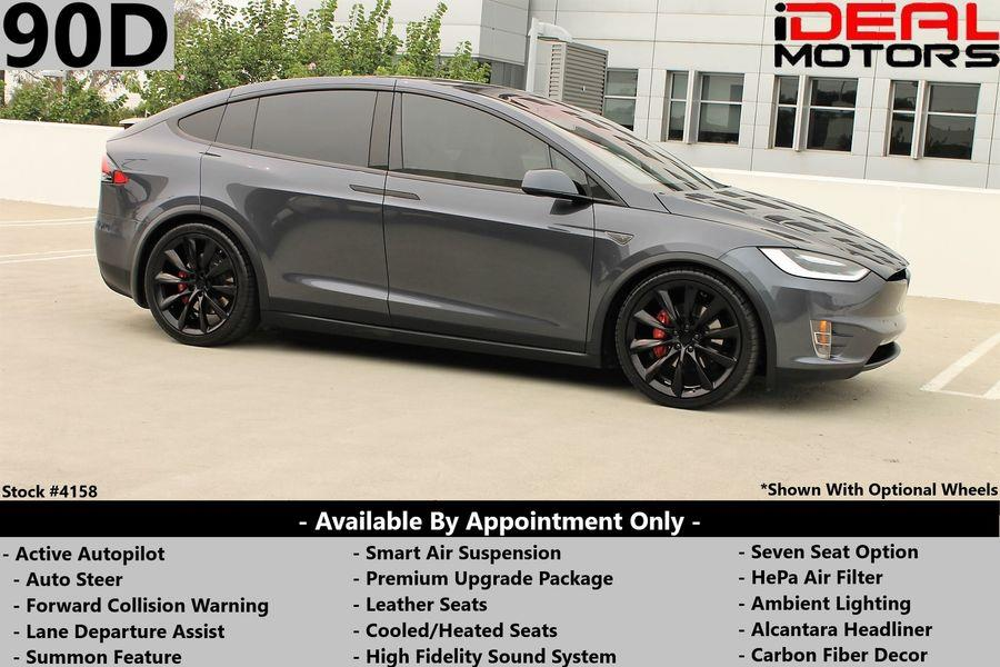 Used Tesla Model x 90D Sport Utility 4D 2016 | Ideal Motors. Costa Mesa, California