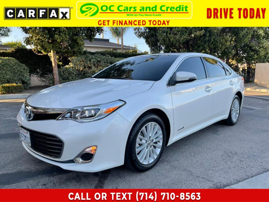Used 2014 Toyota Avalon Hybrid in Garden Grove, California | OC Cars and Credit. Garden Grove, California