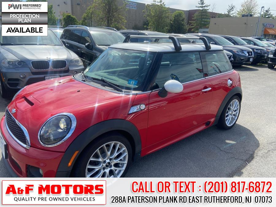 Used MINI Cooper Hardtop 2dr Cpe S 2012 | A&F Motors LLC. East Rutherford, New Jersey