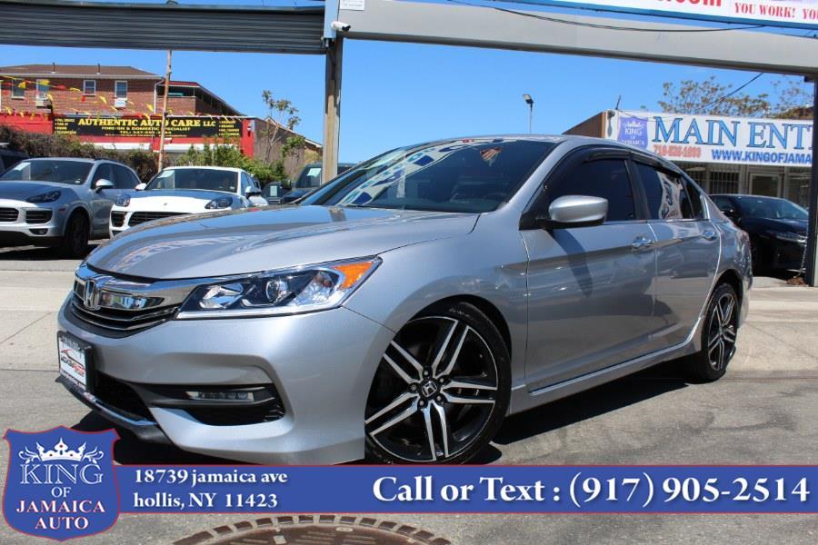 Used Honda Accord Sedan Sport CVT 2017   King of Jamaica Auto Inc. Hollis, New York