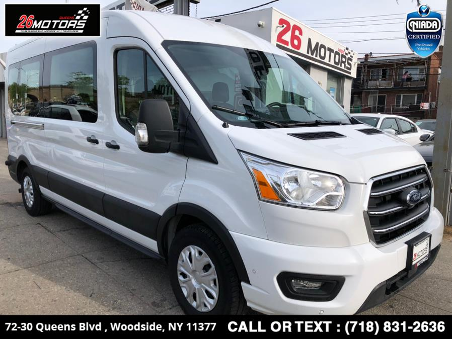 Used 2020 Ford Transit Passenger Wagon in Woodside, New York | 26 Motors Queens. Woodside, New York
