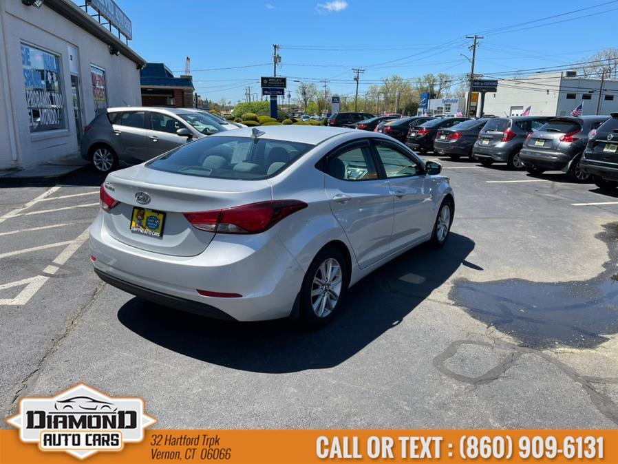 Used Hyundai Elantra 4dr Sdn Auto SE 2015 | Diamond Auto Cars LLC. Vernon, Connecticut