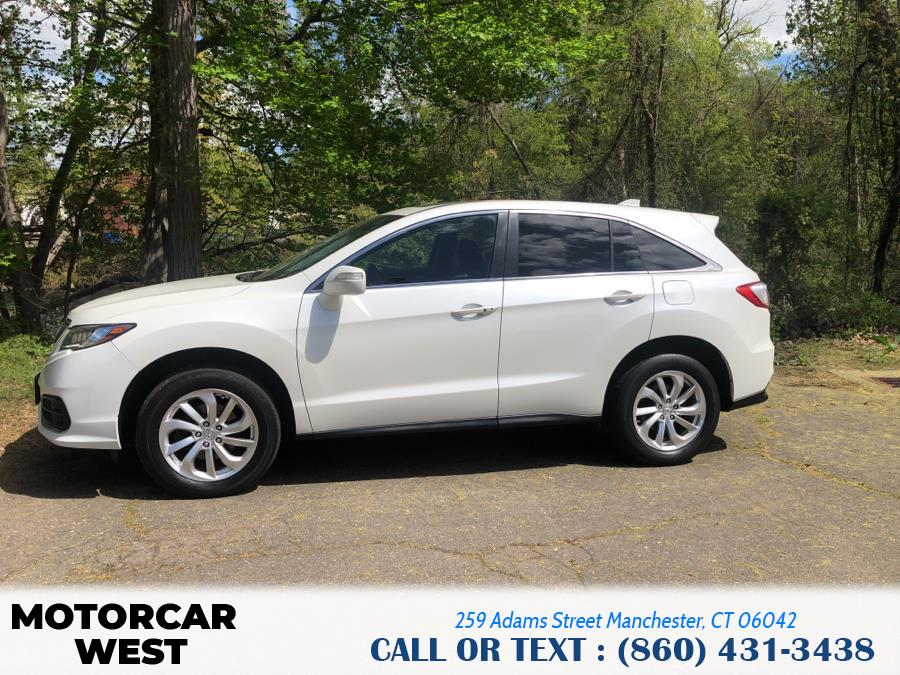 Used Acura RDX AWD w/Technology Pkg 2017 | Motorcar West. Manchester, Connecticut