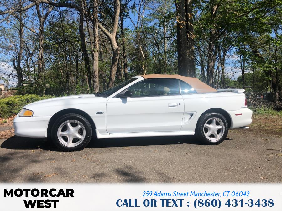 Used Ford Mustang 2dr Convertible GT 1996 | Motorcar West. Manchester, Connecticut