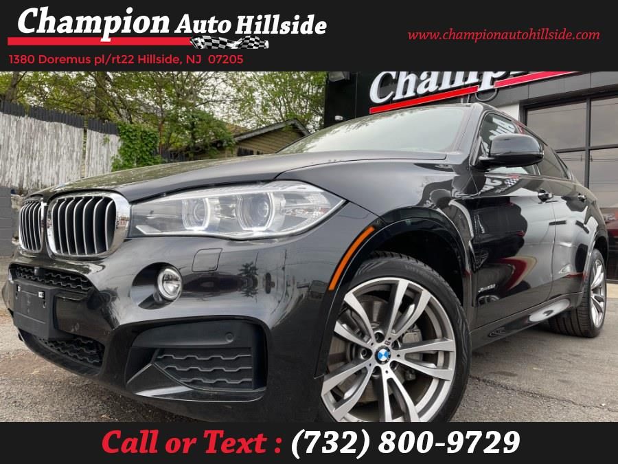 Used 2016 BMW X6 in Hillside, New Jersey | Champion Auto Hillside. Hillside, New Jersey