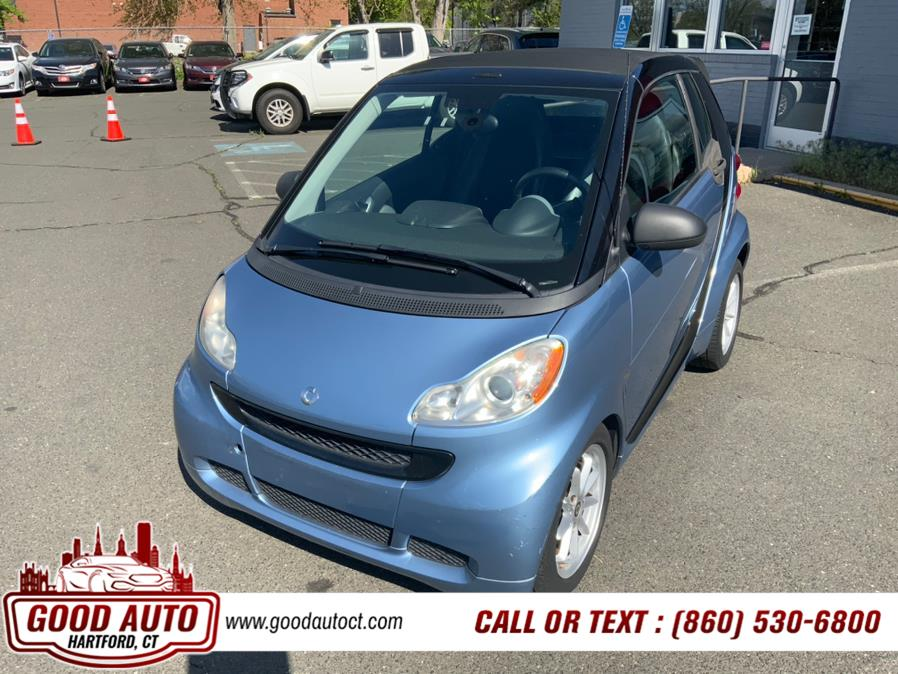 Used Smart fortwo 2dr Cabriolet Passion 2009   Good Auto LLC. Hartford, Connecticut