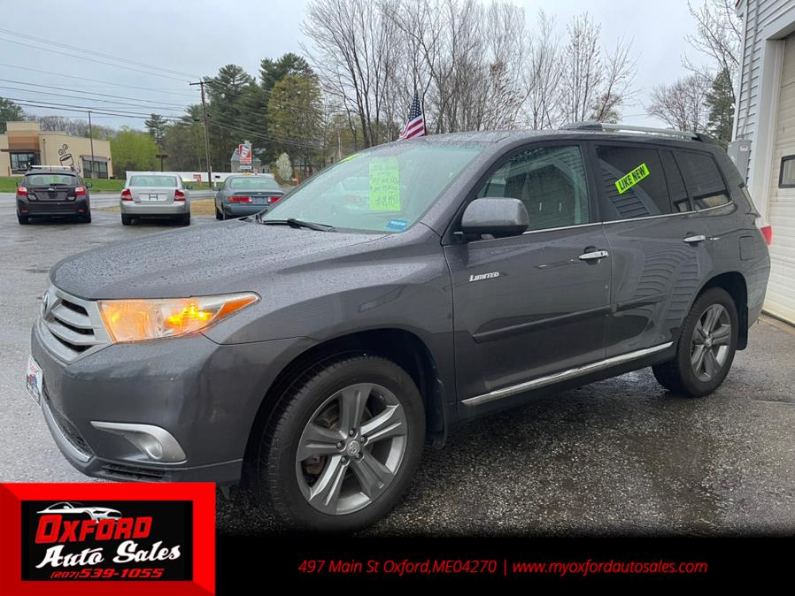 Used Toyota Highlander 4WD 4dr V6  Limited (Natl) 2012 | Oxford Auto Sales. Oxford, Maine