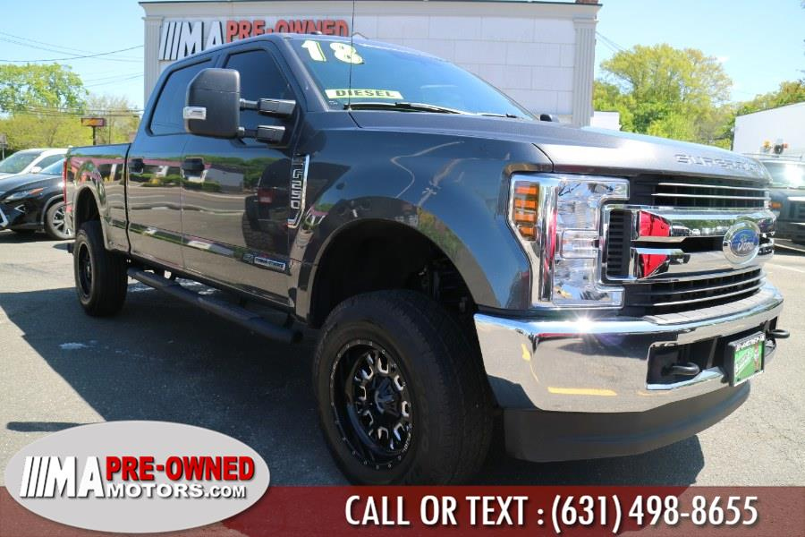 Used Ford Super Duty F-250 SRW XLT 4WD Crew Cab 6.75'' Box 2018 | M & A Motors. Huntington, New York