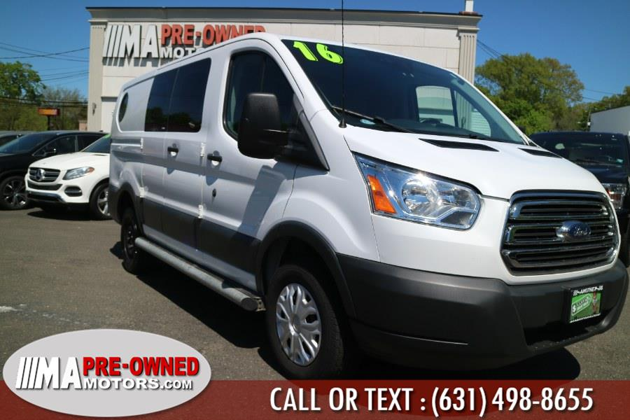 "Used Ford Transit Cargo Van T-250 130"" Low Rf 9000 GVWR Swing-Out RH Dr 2016 