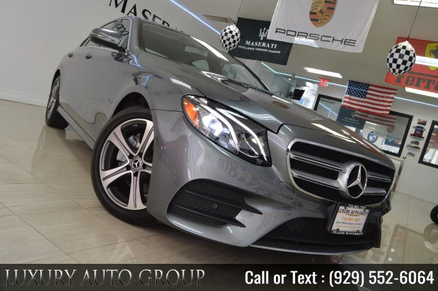 Used 2018 Mercedes-Benz E-Class in Bronx, New York | Luxury Auto Group. Bronx, New York