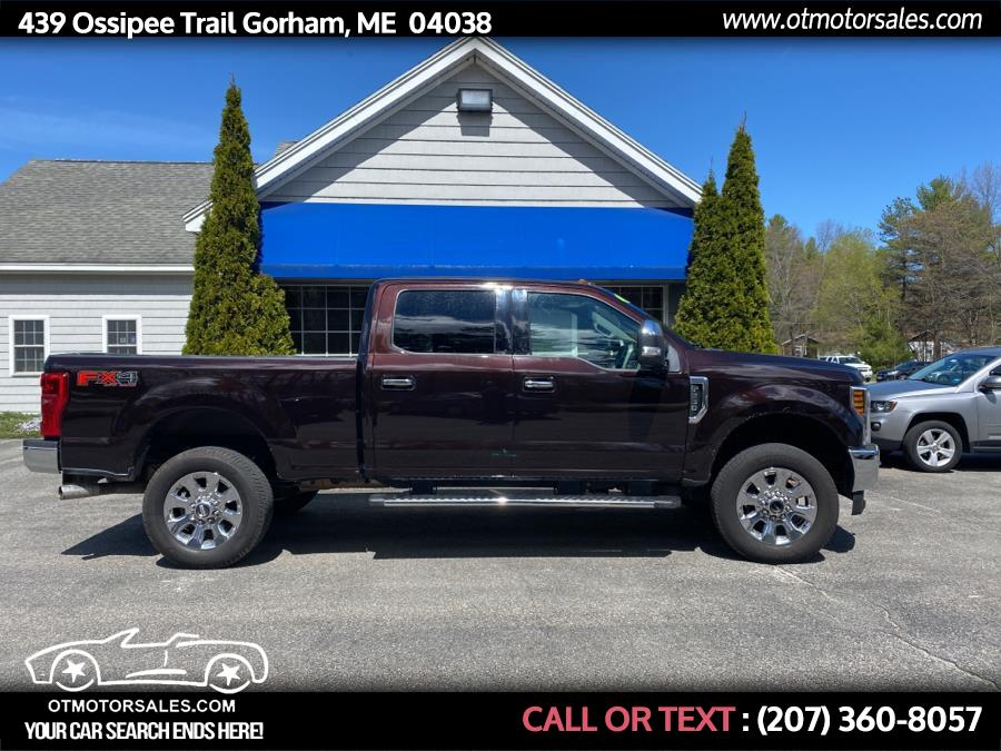 Used 2018 Ford Super Duty F-250 SRW in Gorham, Maine | Ossipee Trail Motor Sales. Gorham, Maine