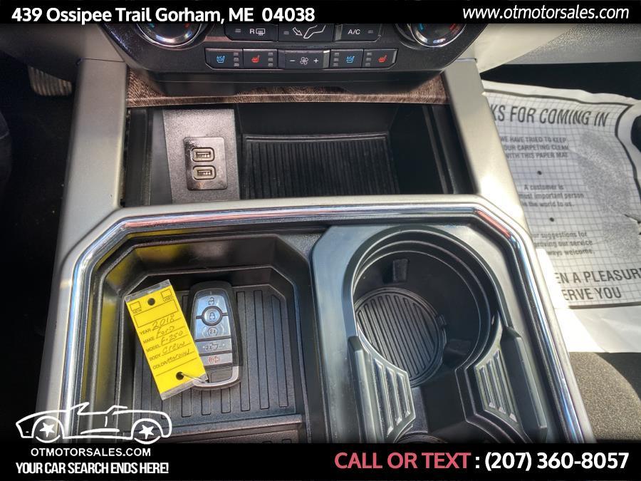Used Ford Super Duty F-250 SRW Crew 2018   Ossipee Trail Motor Sales. Gorham, Maine