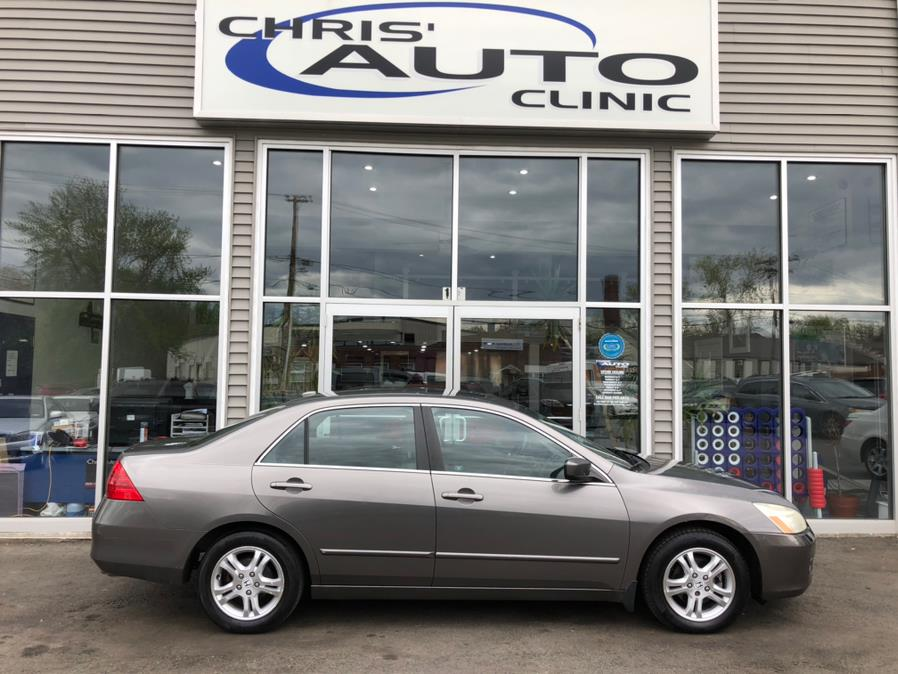 Used 2006 Honda Accord Sdn in Plainville, Connecticut | Chris's Auto Clinic. Plainville, Connecticut
