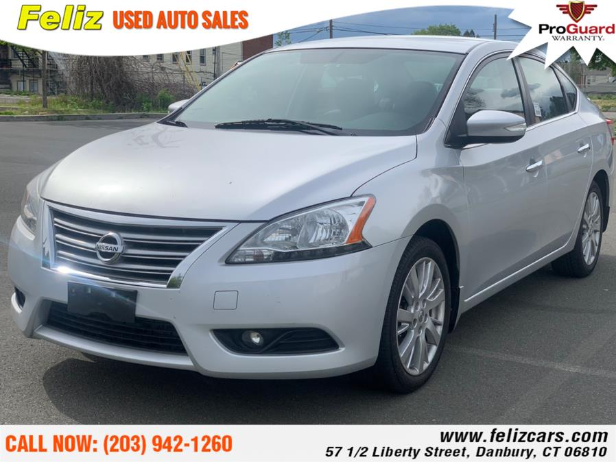 Used 2013 Nissan Sentra in Danbury, Connecticut | Feliz Used Auto Sales. Danbury, Connecticut