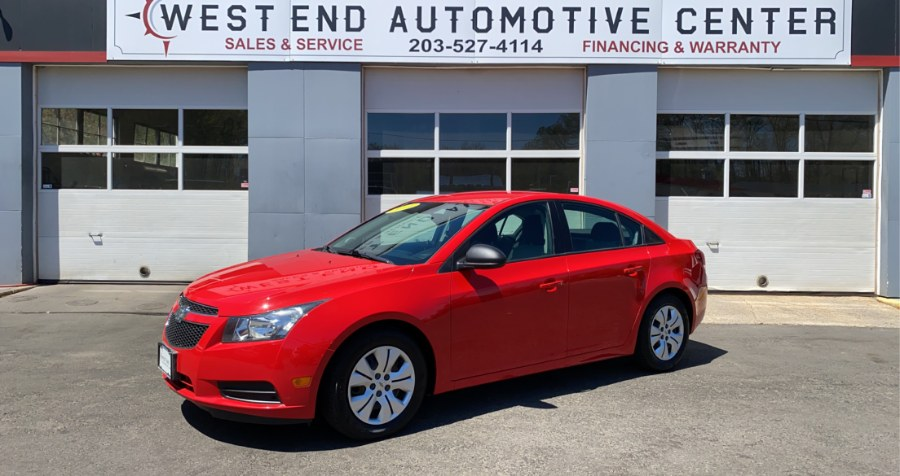 Used 2014 Chevrolet Cruze in Waterbury, Connecticut | West End Automotive Center. Waterbury, Connecticut